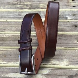 Trafalgar Easton Leather Belt Java Brown L 36/90